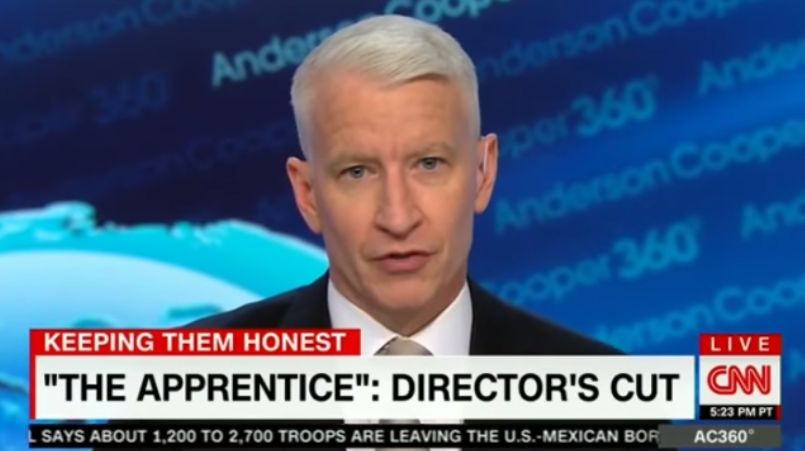 Anderson Cooper: Trump's Tantrum Is Like A Reboot Of 'The