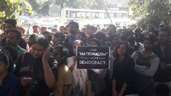 Demand For Freedom, Justice And An FIR: Scenes From The DU Protest At Police