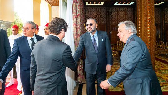 Les détails de la rencontre entre le roi Mohammed VI et le SG de l'ONU, Antonio