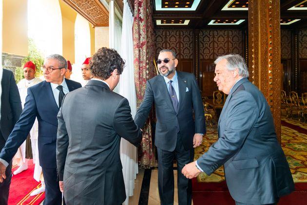 Les détails de la rencontre entre le roi Mohammed VI et le secrétaire général de l'ONU, Antonio