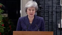 Theresa May Gives Defiant Statement In Face Of No Confidence