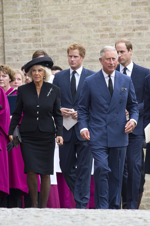 Prinz Harry erfuhr erst nach William von der Beziehung seines Vaters zu Camilla.