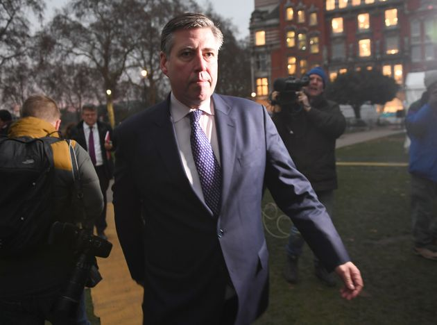 Chairman of the backbench 1922 Committee Sir Graham Brady in