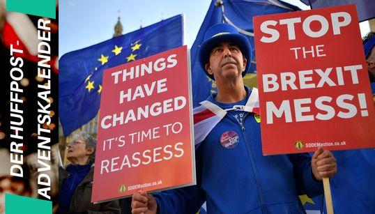 Dieser Mann demonstriert seit Monaten gegen den Brexit –das treibt ihn