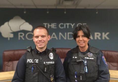 Polizisten erwischen Dieb auf frischer Tat, dann machen sie ihm ein