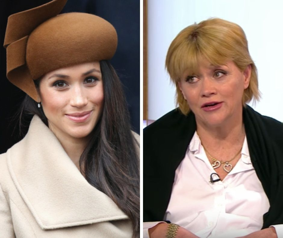 Meghan Markle (L) and her half-sister, Samantha Grant (R).