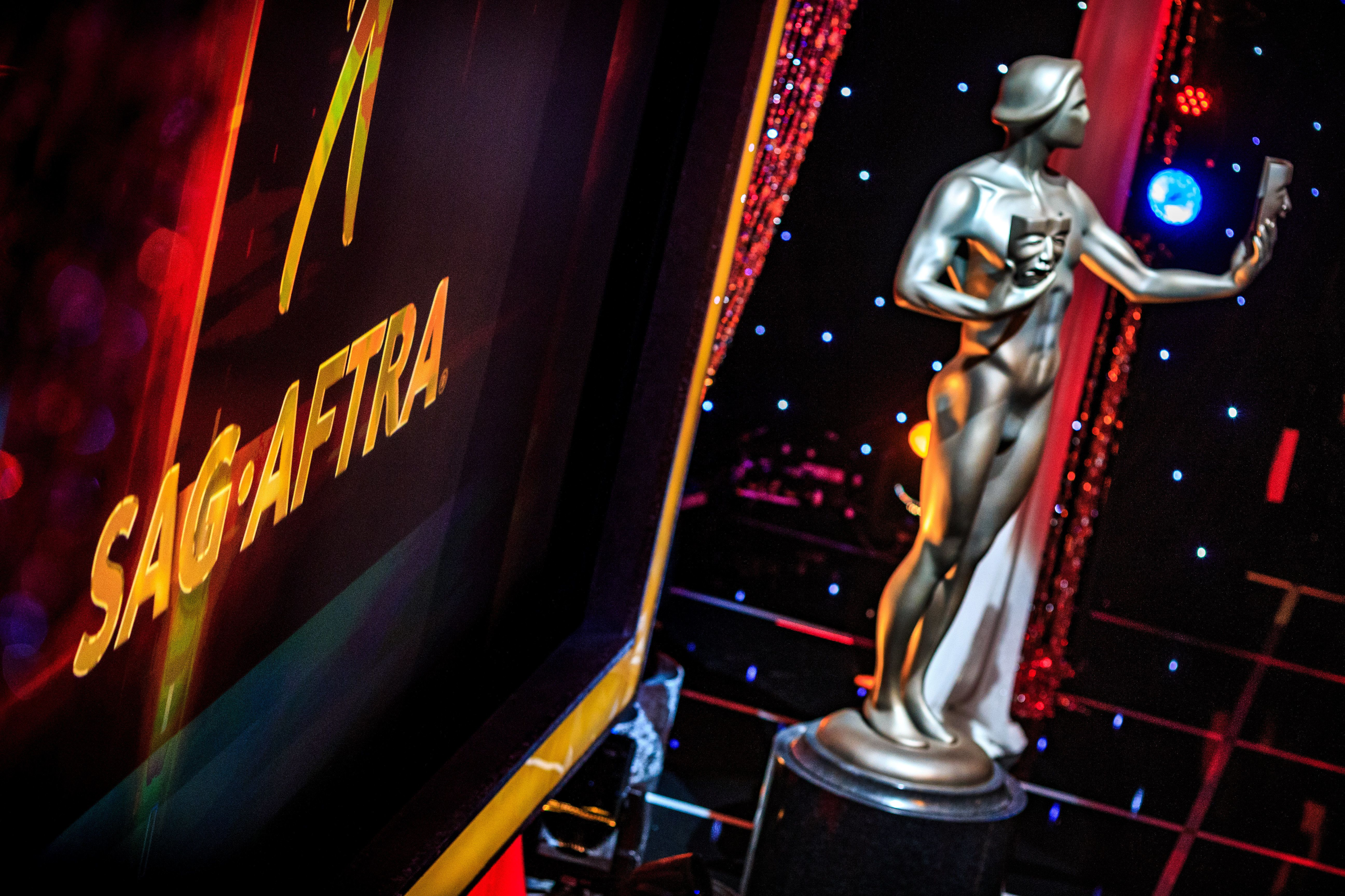 The Screen Actors Guild Awards will air at 8 p.m.