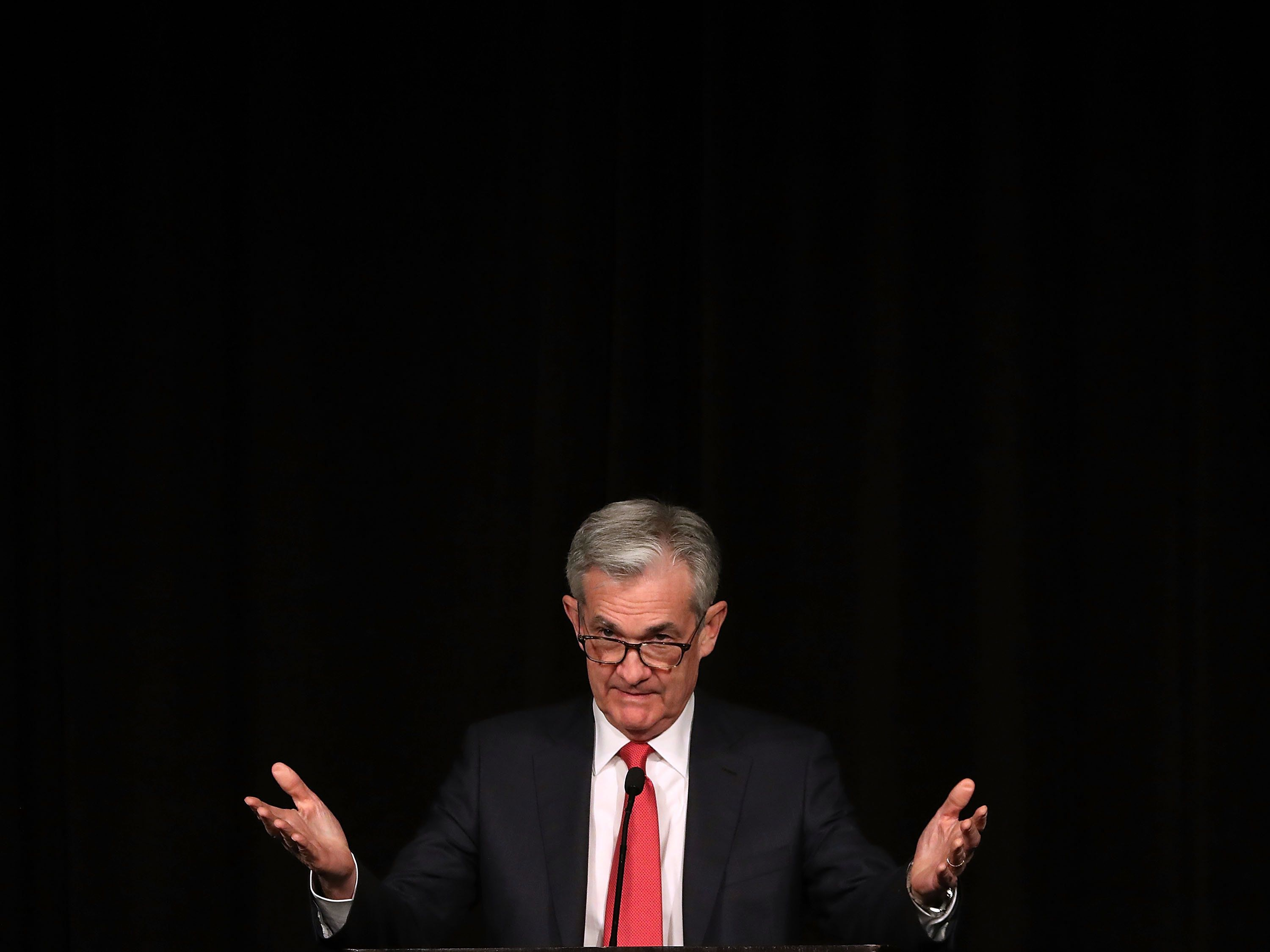 Federal Reserve Board Chairman Jerome Powell in Washington, D.C., Dec. 6. The Fed has been signaling for years that it w