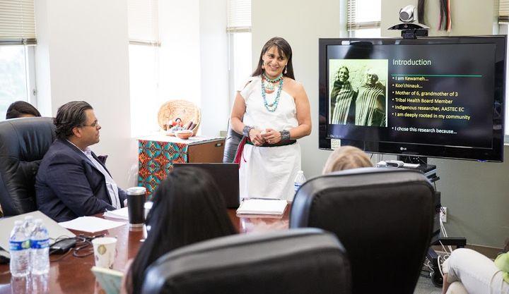 Doreen Bird, Ph.D., is an expert on mental health issues in tribal communities.