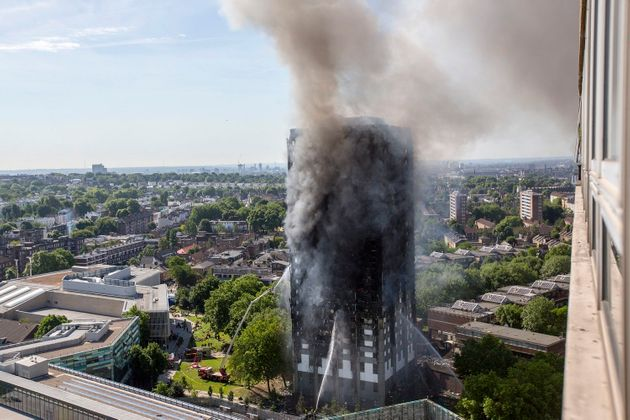 Grenfell Cladding Firm Claims Extinguisher Could Have Put