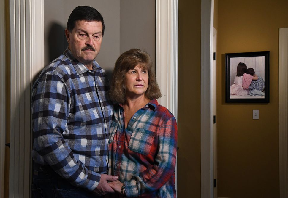 Nathan and Sylvia Harrell lost their 17-year-old son, Chad, to suicide. A favorite photo (right) shows...