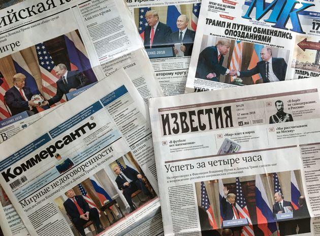 Ένωση Δημοσιογράφων Ρωσίας: Επικίνδυνα τα πρόστιμα για