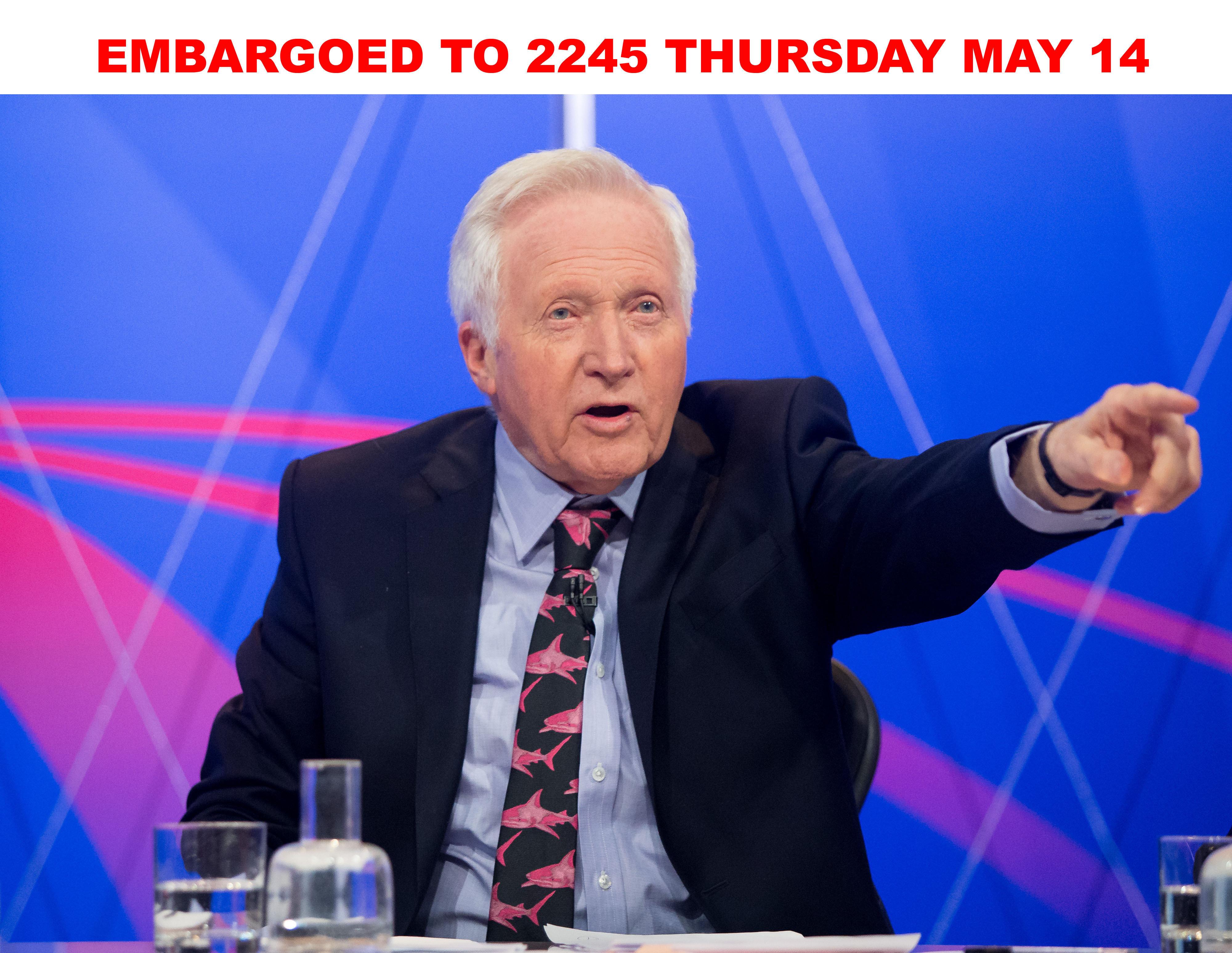David Dimbleby's Best BBC Question Time