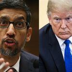 Google-Chef: Deshalb erscheint Donald Trump, wenn man