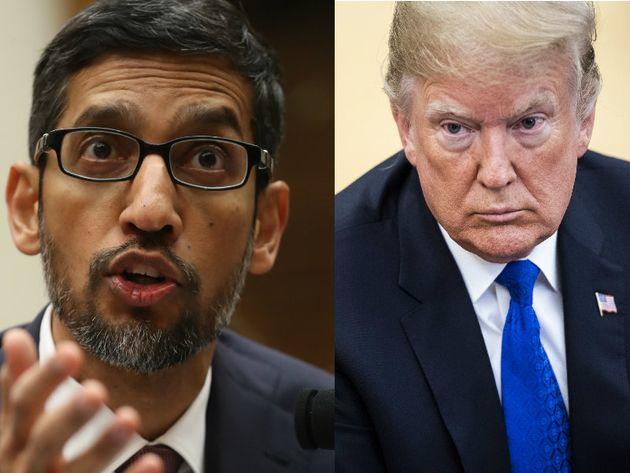 """Google Chef: Deshalb erscheint Donald Trump, wenn man """"Idiot"""" googlet"""