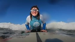 Spain's First Female Blind Surfer Aims For