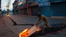 India Blames Pakistan For Violent Protests In