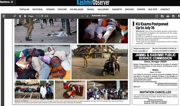 The Classifieds Sections Of These Kashmiri Newspapers Tell A Heartbreaking