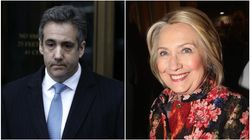 Twitter Users Taunt Michael Cohen For Newly Ironic Anti-Hillary Clinton