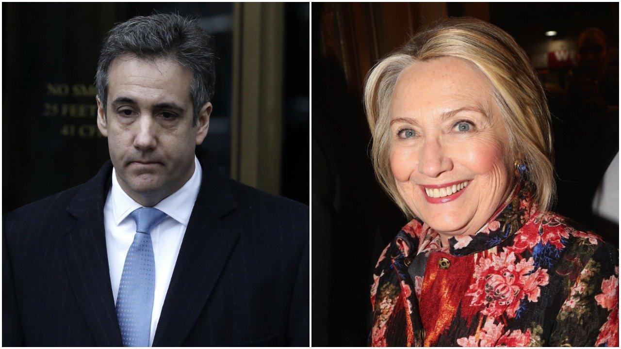 Michael Cohen/ Hillary Clinton