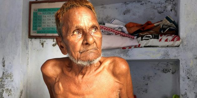 File photo of Mohammad Hashim Ansari, the oldest litigant in a case seeking to preserve Muslim claim...