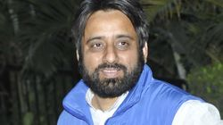 AAP MLA Amanatullah Khan Detained By Delhi Police For