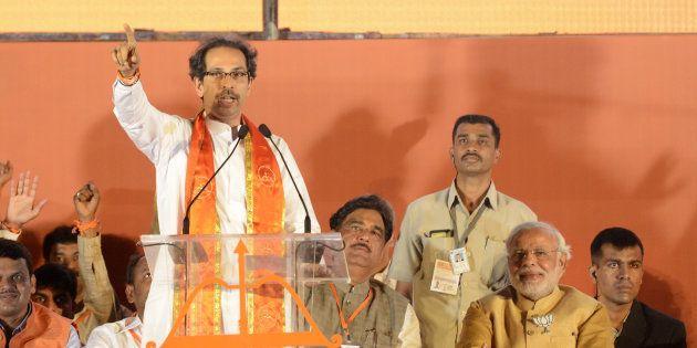 File photo of Uddhav Thackeray and Narendra