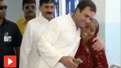 Rahul Gandhi Becomes The Butt Of Jokes After He Hugs The 'Wrong' Dalit Woman In