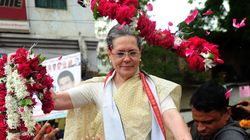 Sonia Gandhi's Impressive Roadshow In Varanasi Cut Short By