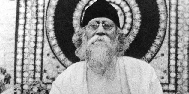 Bengali poet, writer and philosopher Rabindranath Tagore in an undated photo. (AP