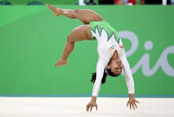 The first Indian gymnast to qualify for Olympics vault
