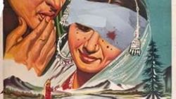 Why A Kashmiri Artist Has Recreated The 'Kashmir Ki Kali' Poster To Include Pellet