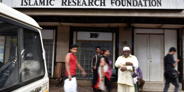 Islamic Research Foundation (IRF), the office of controversial Islamic preacher Zakir Naik in Mumbai....