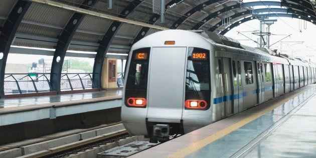 Woman Jumps In Front Of Delhi Metro Train, Suffers Head