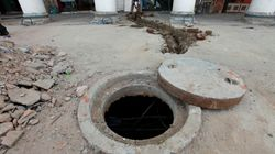Four Labourers Die In Hyderabad Manhole After Inhaling Poisonous
