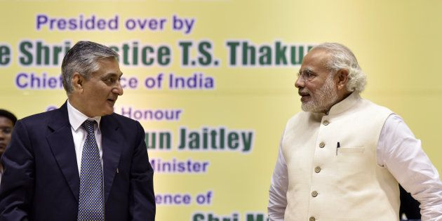 Chief Justice Unhappy With PM Modi Skipping Judiciary Issues On Independence