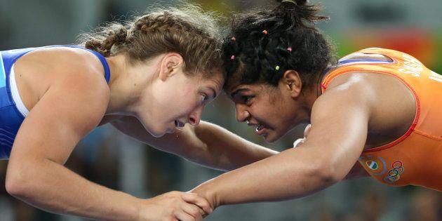 Sakshi fought five bruising battles in the 58kg