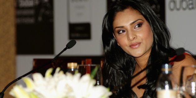 Actor Ramya attends a press conference in Dubai in 2007. (Photo by Andrew H. Walker/Getty