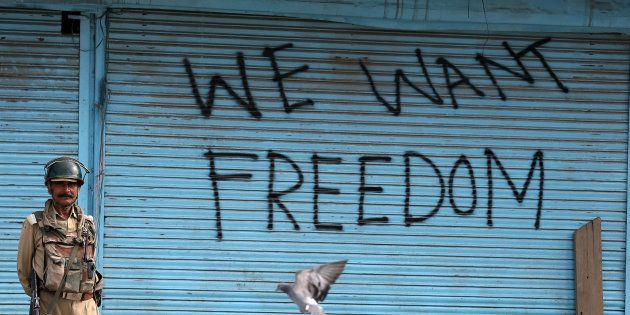 Demanding Azadi For Kashmir Is Not Sedition, But It Is Certainly