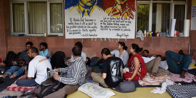 JNU students on day six of hunger