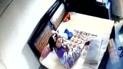 WATCH: Woman Caught On CCTV Beating And Strangling Her One-Year-Old