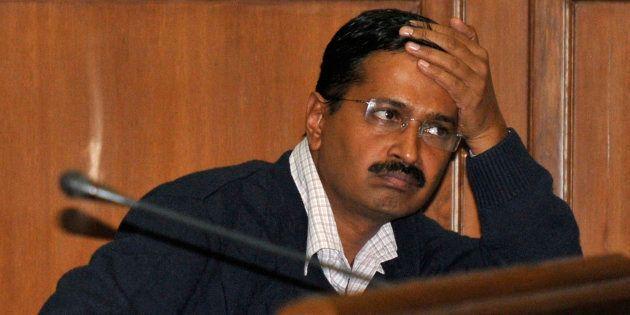 The chief minister of Delhi, Arvind Kejriwal