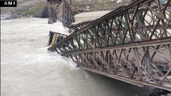 Bridge Near Rohtang Tunnel Project Collapses, No Casualties