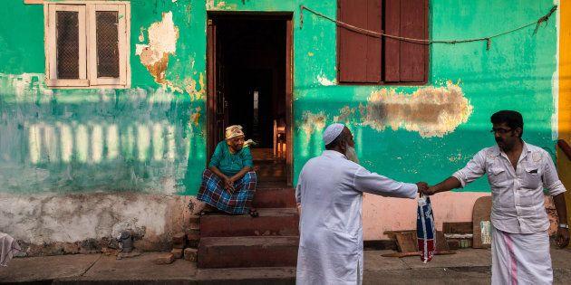 Representative image. Daily life in a colourful street of Mattancherry, Kochi, Kerala. (Photo by Marji...