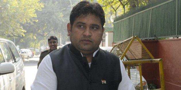 File photo of former Delhi Social Welfare Minister Sandeep