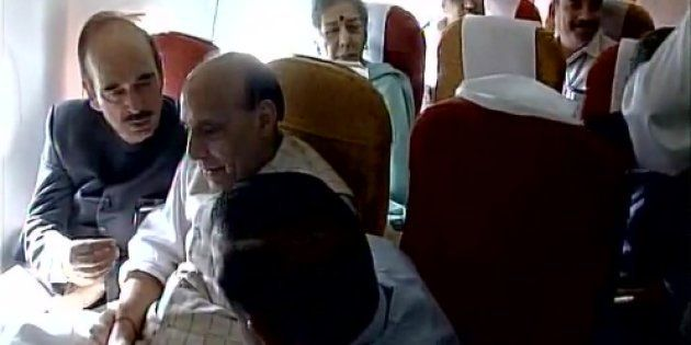 Rajnath Singh Leads All-Party Delegation To