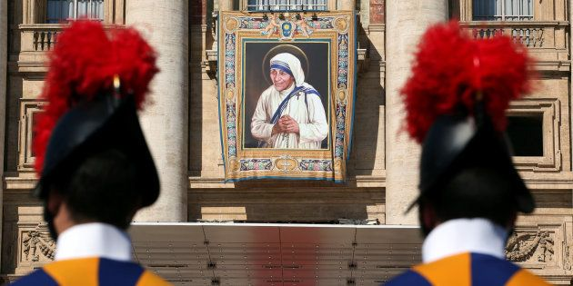 PHOTOS: Mother Teresa's Canonisation Ceremony In Vatican