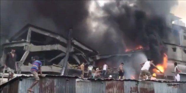 10 Killed, 20 Injured In Bangladesh's Ghazipur Factory