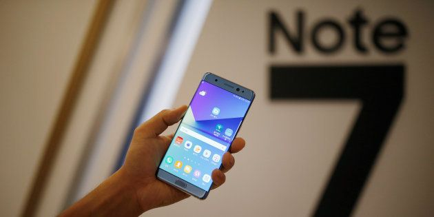 Passengers Warned Not To Use Samsung Galaxy Note 7 On