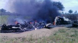 IAF Fighter Plane Crashes In Rajasthan, No Casualties